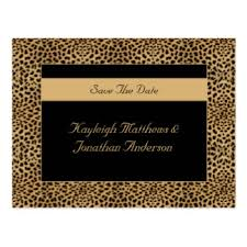 Design Your Own Save The Date Cards Animals Save The Date Postcards Zazzle