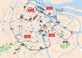 Map Of Amsterdam Enjoy Hop On Hop Off Bus Amsterdam Tours U0026 Tickets