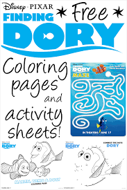 100 dory coloring pages disney color and play now with disney