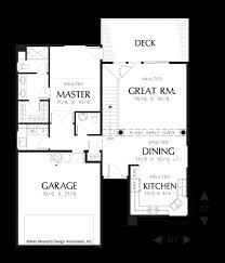 Floor Plans For Sloped Lots Mascord House Plan 1136 The Rosebay