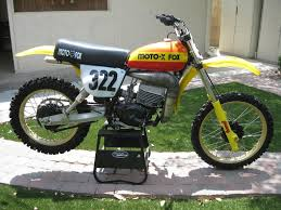 250 motocross bikes for sale 1977 suzuki rm 250 moto x fox team bike ams racing
