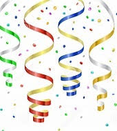 new years streamers new year clipart streamer pencil and in color new year clipart
