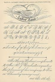 first grade writing paper printable 155 best calligraphy penmanship images on pinterest penmanship ornamental penmanship flourishes the first entry in albert nicholson s 1885 autograph book view other century autograph book pages