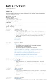 Teacher Resume Samples And Writing by Yoga Instructor Resume Samples Visualcv Resume Samples Database