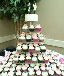 5 tier cupcake stand online shop free shipping cake stand 6 tier acrylic cake