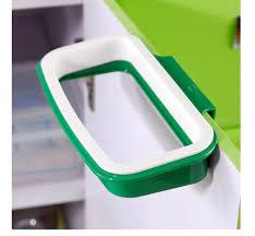 Green Kitchen Trash Can Online Shop Kitchen Rubbish Storage Bag Rack Stand Trash Bag Clip