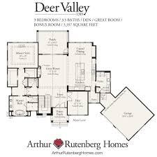 deer valley 1319f mt plan collection deer valley home plan main floor
