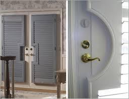 Patio Door Shutters Specialty Shutters For Doors And Patio Doors Budget