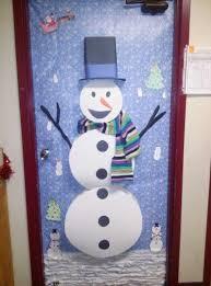 snowman door decorations 19 best christmas door decor images on decorated doors
