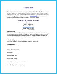 Bus Driver Cover Letter Carpenter Resume Sample Free Resume Example And Writing Download