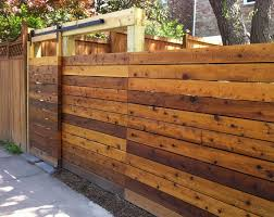 Modern Backyard Fence by Best 25 Wood Fence Gates Ideas On Pinterest Gate Ideas
