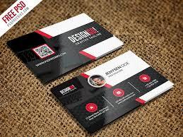 Template Business Card Psd Creative And Modern Business Card Template Psd U2013 Uxfree