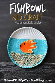 fishbowl kid craft craftandcleanup fishbowl fish and craft