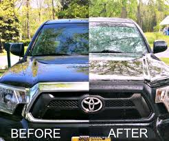toyota tacoma blacked out painting tacoma grill surround 11 steps with pictures