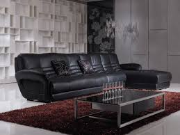 Modern Leather Sofa Black Modern Living Room Ideas With Black Leather Sofa Room Design Ideas