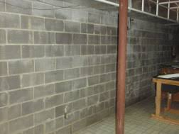 Bowing Basement Wall by Commercial Foundation Piers Kansas Cityking Piers Foundation Repair