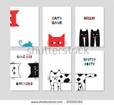 cat vector set free vector stock graphics