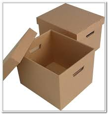 cardboard storage boxes and other storage ideas packaging and