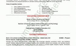 Preschool Teacher Resume Sample by The Most Amazing Texas Teachers Resume Examples Job Sample Resumes