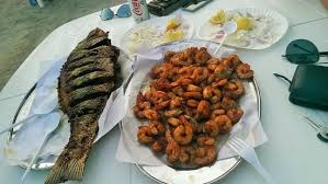 grilled fish prawns at bu qtair picture of bu qtair dubai