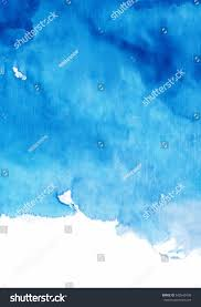 Blue Shades Blue Watercolor Background Shades Blue Stock Illustration