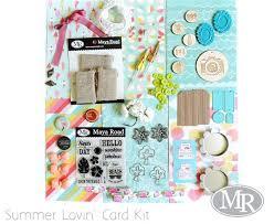 card kit summer lovin road for the journey of a lifetime