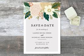 Save The Date Cards Classic Floral Save The Date Cards By Alethea And Ruth Minted