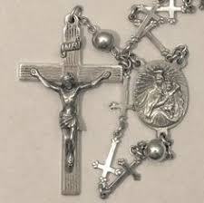 creed rosary german coral rosary original heart shape box tiny