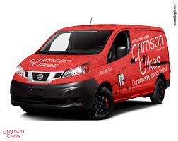 nissan van 2016 nissan nv200 van wrap design by essellegi