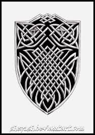 celtic shield knot tattoo design real photo pictures images and