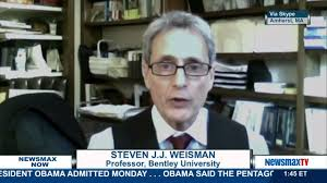 bentley university newsmax now steven j j weisman attorney and professor at