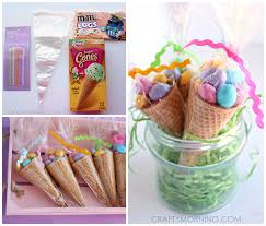 easter gifts edible easter egg cone treats crafty morning