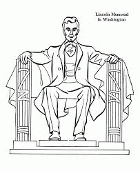 lincoln coloring pages lincoln memorial coloring page free coloring page lincoln memorial