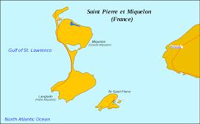 map of st and miquelon et miquelon map mapsof net