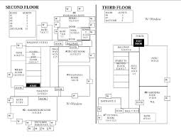 level floor 2nd 3rd level floor plan the inn