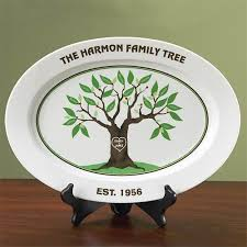 personalized family platters personalized family tree platter walmart