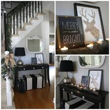 entry decor christmas decorations for entry tables christmas home tour with