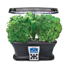 indoor herb garden kit with light gardening ideas
