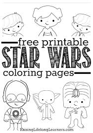 lego star wars coloring jedi free printable pages