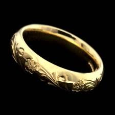 charles green wedding rings charles green jewelry 18kt yellow gold chain engraved