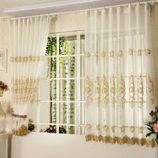 Embroidered Sheer Curtains Sheer Curtains With Embroidered Patterns For Design