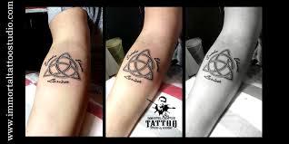 celtic eternal love symbol celtic everlasting love tattoo at