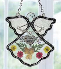 in loving memory charms angel suncatcher in loving memory angel pressed