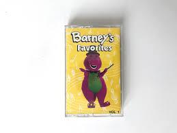 barney cassette ebay