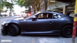 modified toyota gt86 matte black toyota gt86 in ust cool stealthy look youtube