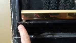 Superior Fireplace Glass Doors by Superior St 3840 Youtube