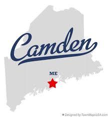 map of camden maine map of camden me maine