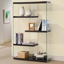 black glass bookcase steal a sofa furniture outlet los angeles ca