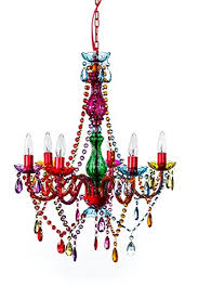 Ebay Chandelier Crystal Large 6 Arm Multi Color Acrylic Crystal Chandelier Boho Chic Light