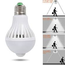 light bulbs with sensors low energy e14 5w led pir motion sensor auto energy saving light l bulb